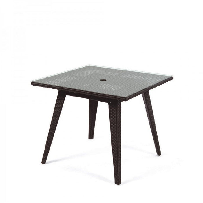 Senna Square Dining Table with Glass