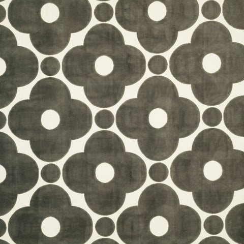 Velvet Spot Flower-Dark Warm Grey