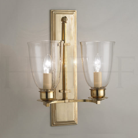Albert Wall Light, double