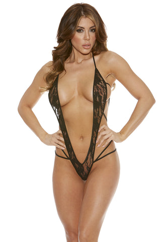 BS611L deep V slingshot lace g-string