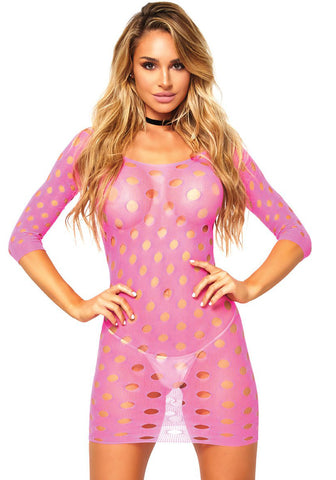 86579 seamless pothole mini dress, by Leg Avenue