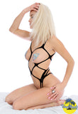 90270 strappy all open teddy by Hot