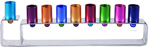 Multi Color Candelabra for Chime & Taper Candles