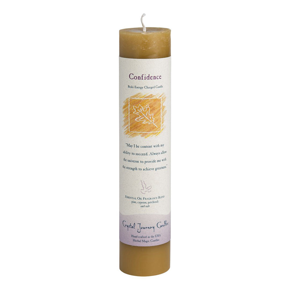 Crystal Journey Pillar Spell Candle