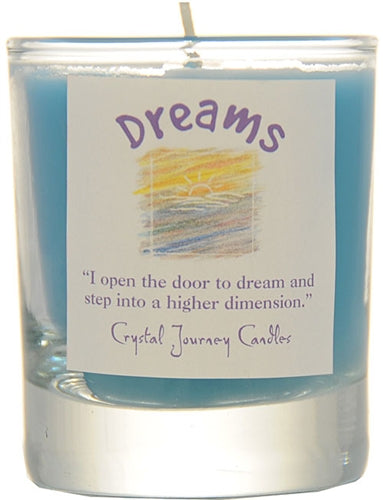 Crystal Journey Votive Spell Candle
