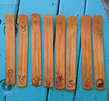 Stick Incense Holders, Handmade Wooden