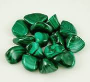 Malachite Crystal, (per each stone)
