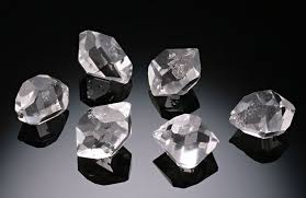 Herkimer Quartz Diamonds, (per each stone)