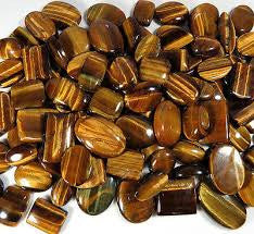 Gold Tiger Eye Tumbled Stone (per each stone)