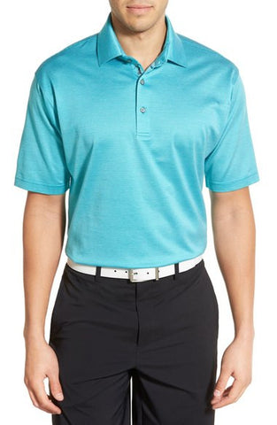 'Diamond Jac' Mercerized Cotton Polo