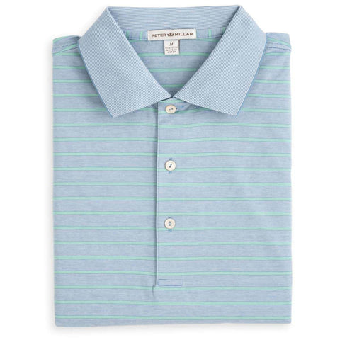 Charlie Stripe Cotton Polo