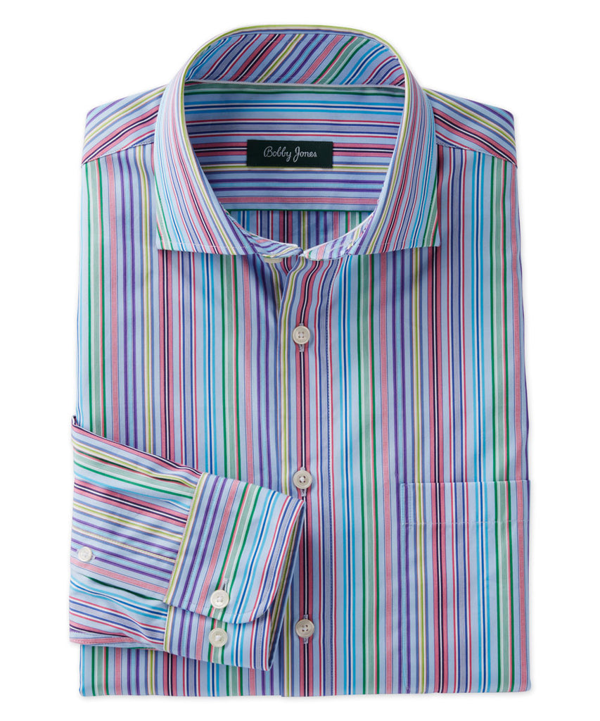 ALISTER STRIPE BROADCLOTH SHIRT