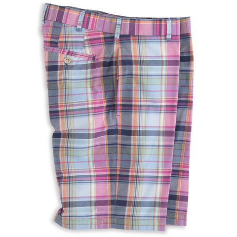 Cotton Plaid Short