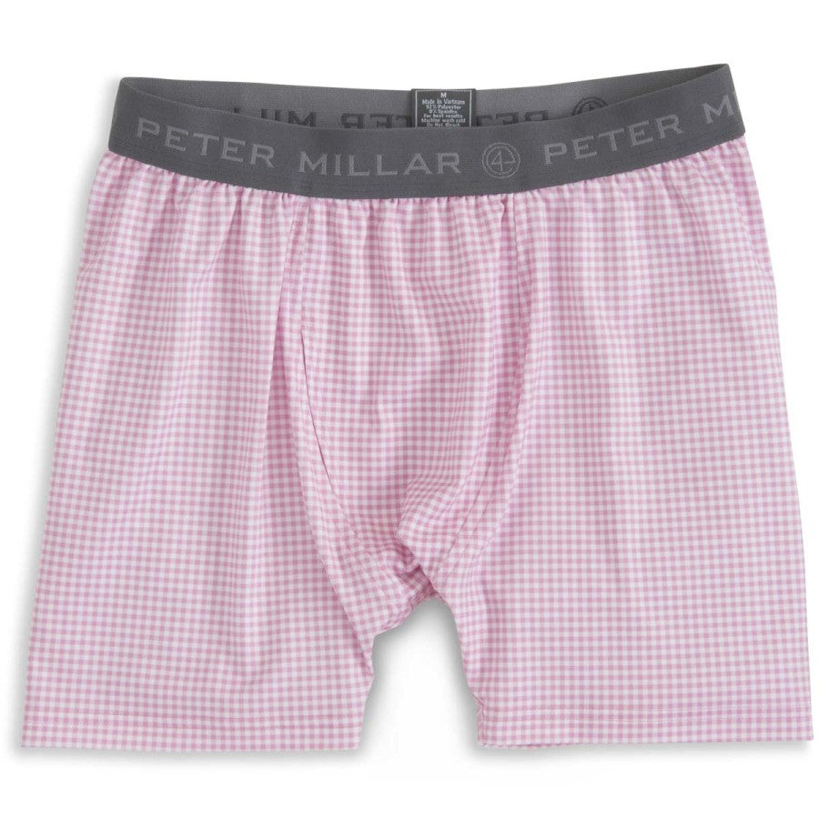 Nebraska Gingham Stretch Jersey Boxer Brief