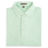 Competition Stripe Stretch Jersey Polo