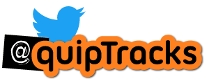 Find QuipTracks on Twitter as @QuipTracks