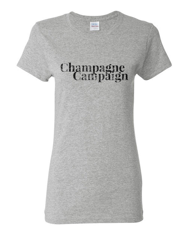 Champagne Campaign Women's short sleeve t-shirt