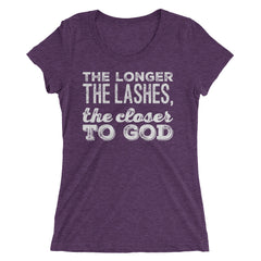 The Longer The Lashes, The Closer To God