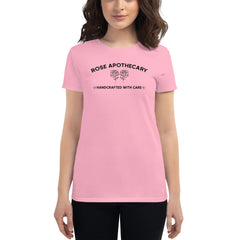 Rose Apothecary Women's Short Sleeved Scoop Neck Tee