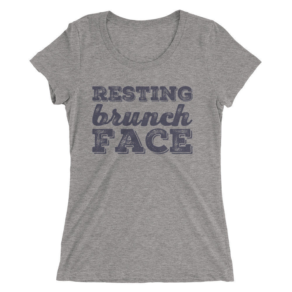 Resting Brunch Face Ladies' short sleeve t-shirt