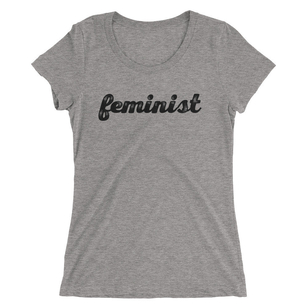 Feminist Ladies' short sleeve t-shirt