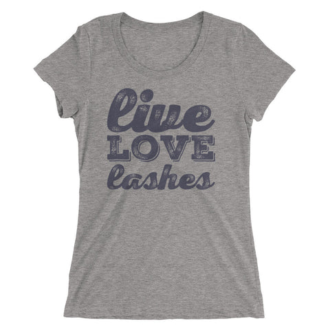 Live Love Lashes Ladies' short sleeve t-shirt