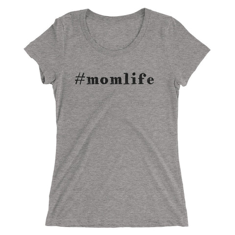 #momlife Ladies' short sleeve t-shirt