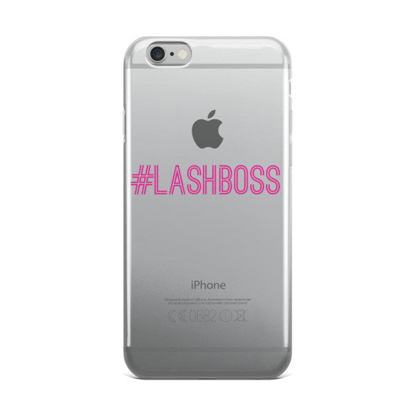 #LashBoss iPhone Case