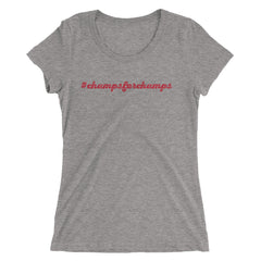 #ChampsForChamps - Dawgs Ladies' short sleeve t-shirt