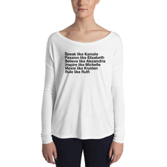 SHEroes 2019 Ladies' Long Sleeve Tee