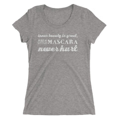 Inner Beauty Is Great... Ladies' short sleeve t-shirt