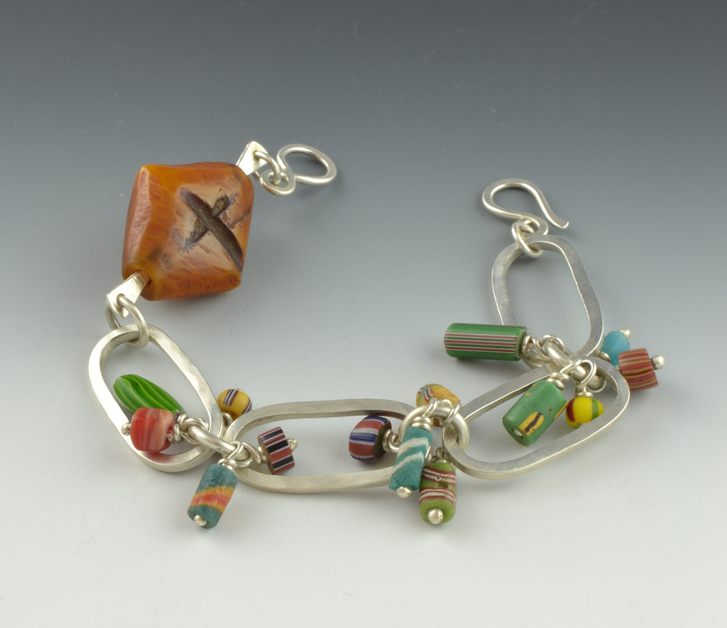 African Trade Bead Charm