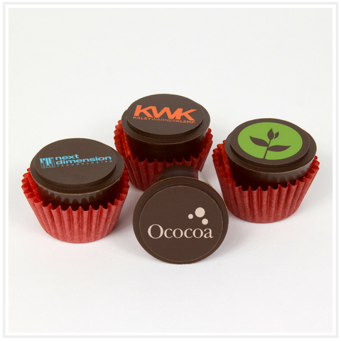 Ococoa Chocolate Butter Cups featuring Corporate Logos
