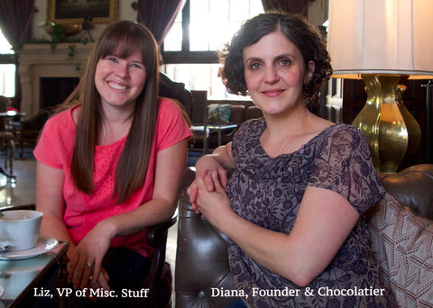 Diana and Liz from Ococoa Chocolate