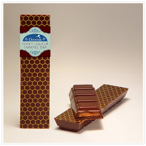 Ococoa Chocolate Honey Liqueur Caramel Bar