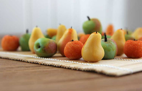 Fruit-shaped Marzipan