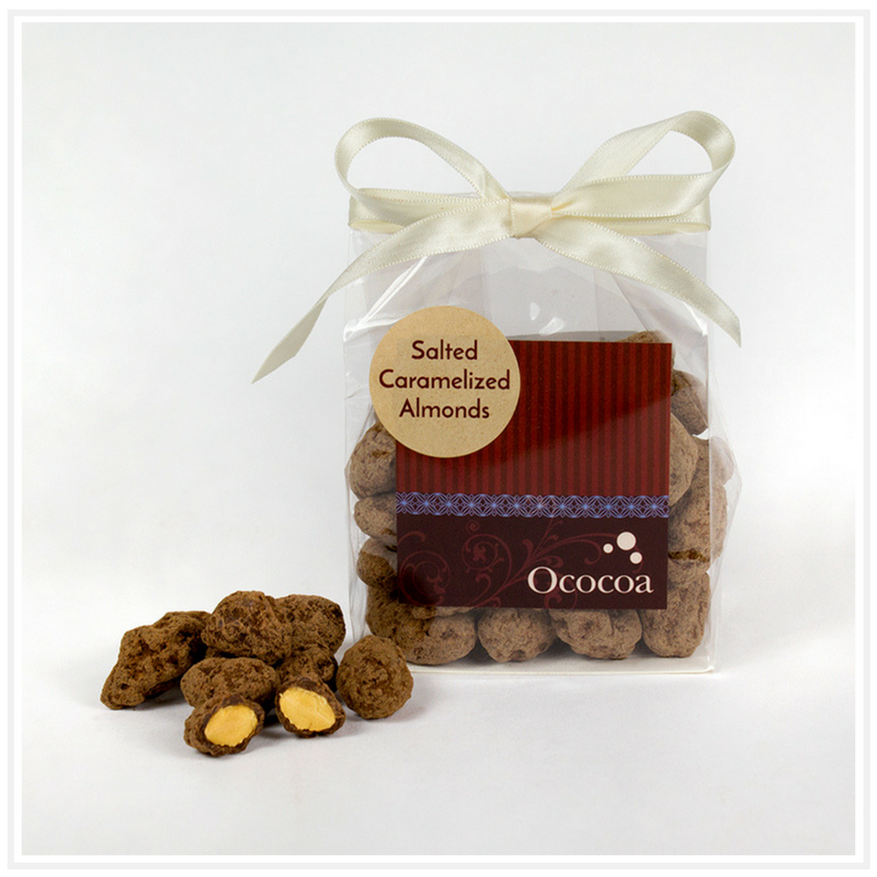 Salted Chocolate Caramelized Almonds
