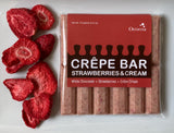 Strawberries & Cream Crêpe Bar