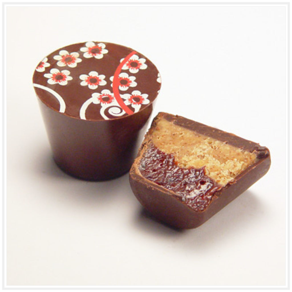 Ococoa Chocolate Almond Cherry Butter Cup
