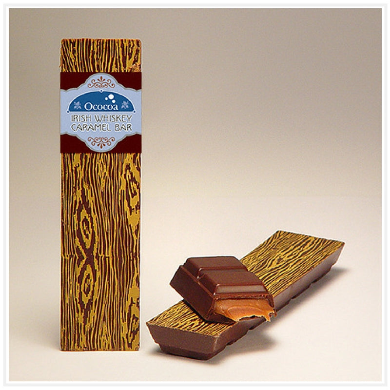 Ococoa Chocolate Irish Whiskey Caramel Bar
