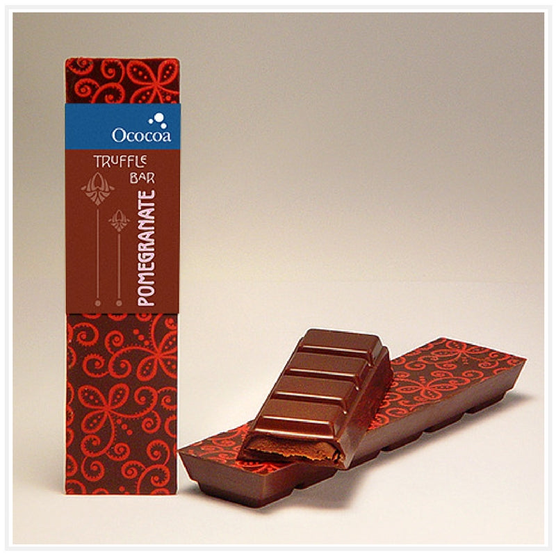 Ococoa Chocolate Pomegranate Truffle Bar