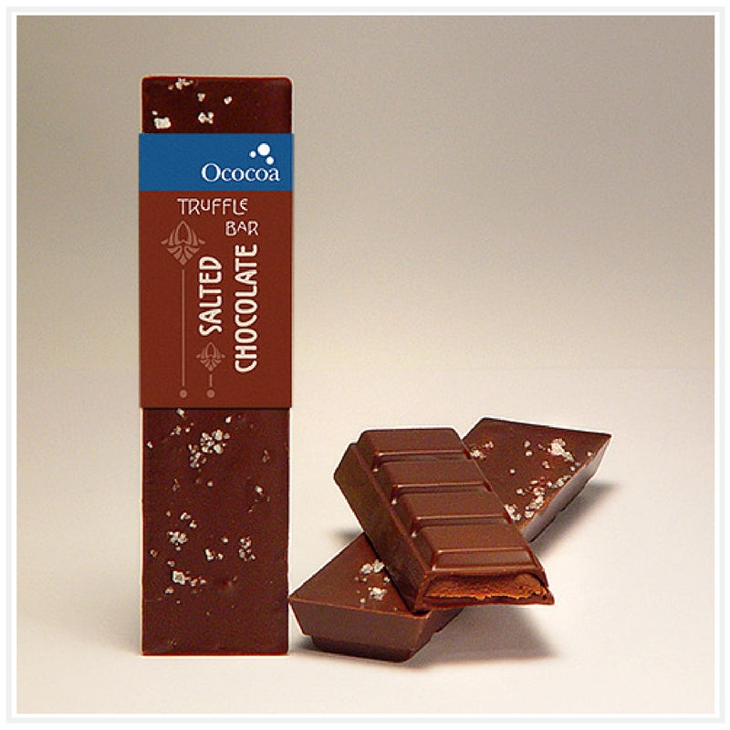 Ococoa Chocolate Salted Chocolate Truffle Bar