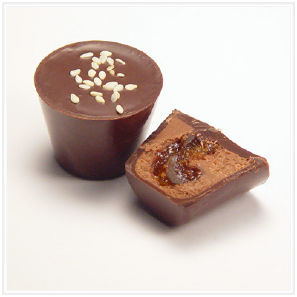 Ococoa Chocolate Sesame Fig Butter Cup