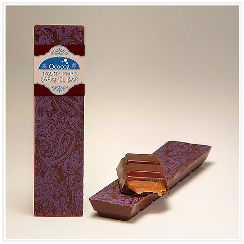 Ococoa Chocolate Tawny Port Caramel Bar