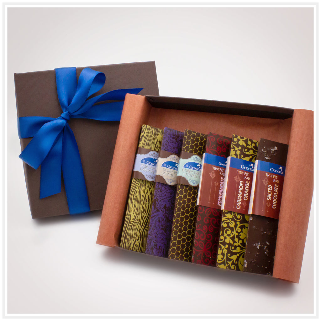 Ococoa Chocolate Truffle and Caramel Bar Gift Collection
