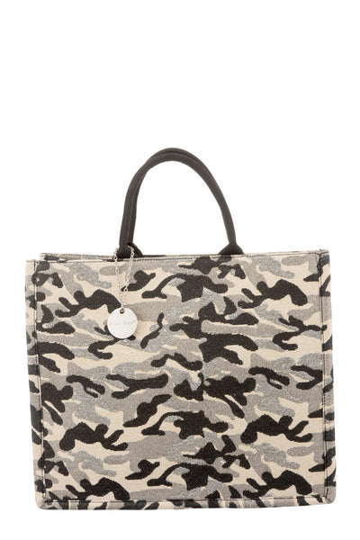 Large Canvas Camouflage Bag