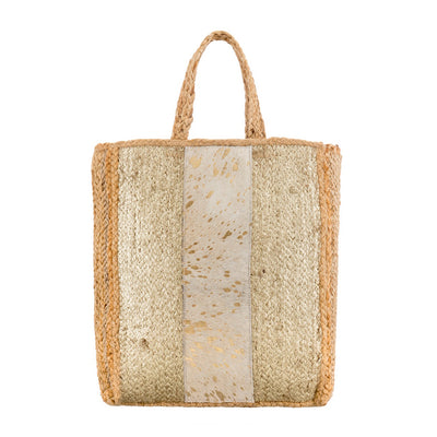 Large Bohemian Raffia Shopper