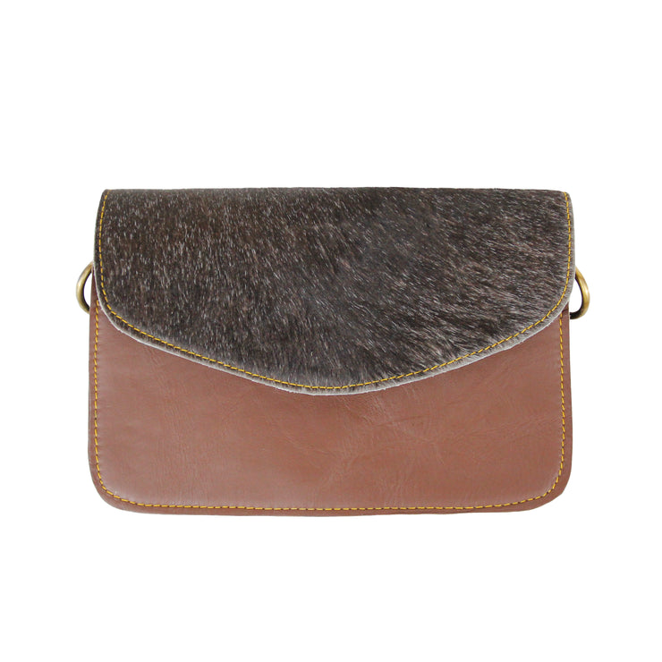Small Leather and Hide Handbag