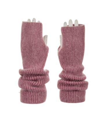 Soft & Stylish Fingerless Gloves - Wrist Warmers