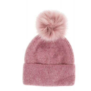 Luxurious Angora mix Bobble Hat